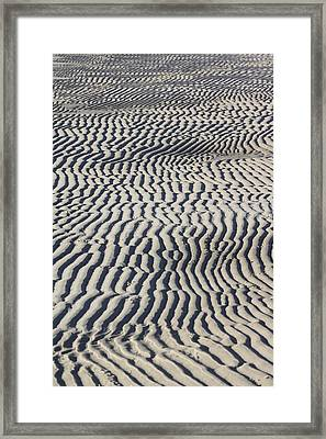 Sand Art Work Framed Print