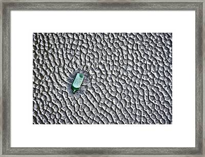 Sand Dimples Framed Print by Scott Holmes