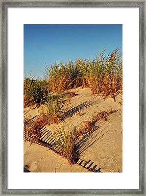 Sand Dune II - Jersey Shore Framed Print