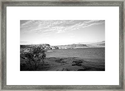 Sand Hollow River Framed Print by Gilbert Artiaga