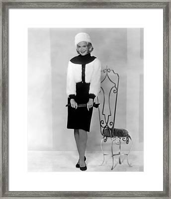 Sandra Dee, 1962 Framed Print by Everett