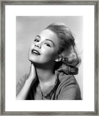 Sandra Dee, Age 15, 1957 Framed Print