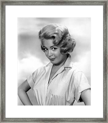 Sandra Dee, Age 18, 1960 Framed Print by Everett
