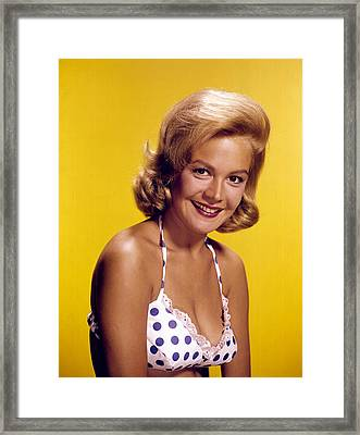 Sandra Dee, C. Early 1960s Framed Print by Everett