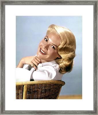 Sandra Dee, Ca. 1950s Framed Print by Everett