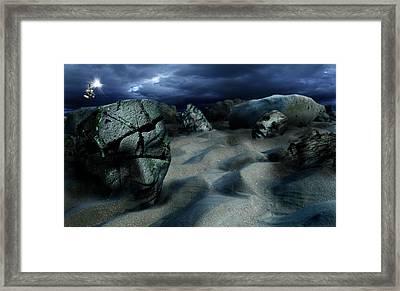 Sands Of Oblivion Framed Print