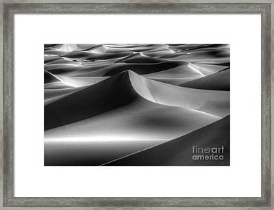 Sands Of Time Framed Print by Bob Christopher