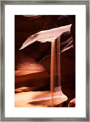 Sands Of Time Framed Print by James Marvin Phelps