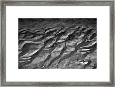 Sandscape Framed Print by Steven Ainsworth