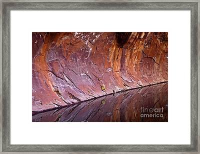 Sandstone Reality Framed Print