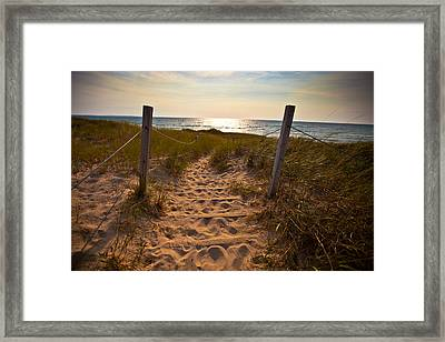 Sandswept Framed Print by Jason Naudi Photography