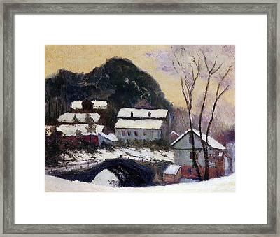 Sandviken Norway Framed Print by Claude Monet
