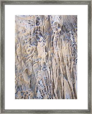 Framed Print featuring the photograph Sandwall by Christine Drake