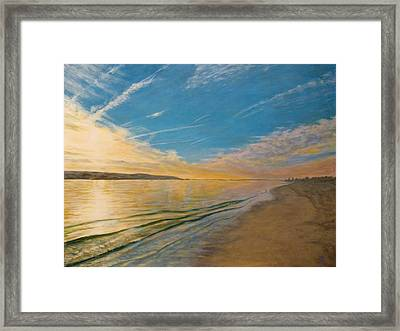 Sandy Hook Bay Framed Print