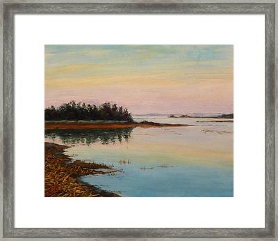 Sandy Hook Framed Print