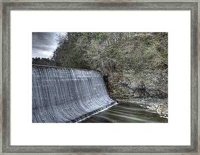 Sandy Hook Mill Dam Framed Print by David Clark