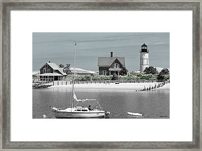 Sandy Neck Summer Framed Print