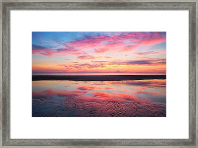Sandz-a-bar Framed Print