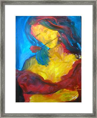 Sangria Dreams Framed Print by Keith Thue