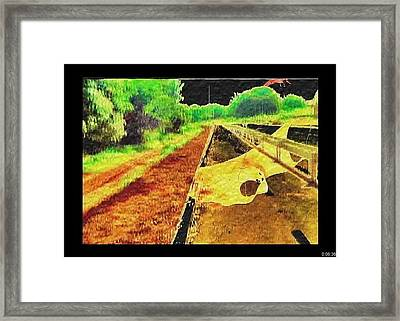 Framed Print featuring the painting Sanity by Beto Machado