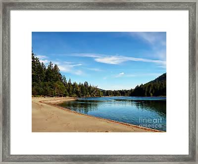 Sanjo Beach Framed Print