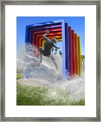 Santa Barbara Dream 1 Framed Print