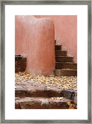 Santa Fe Adobe Framed Print by Denice Breaux