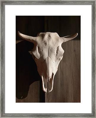 Santa Fe Framed Print by Kathy Corday