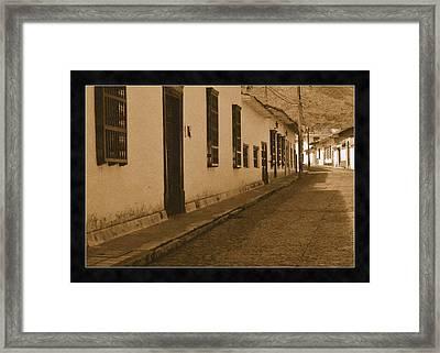 Santa Fe No IIi Framed Print