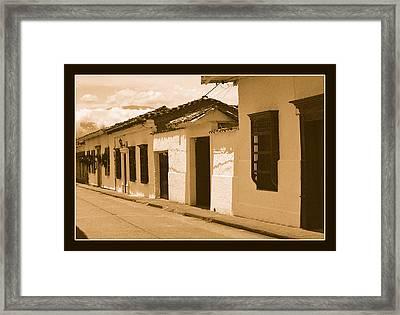 Santa Fe No Iv Framed Print