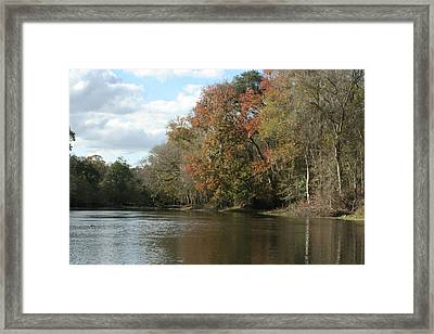 Santa Fe River Framed Print by Sean Green