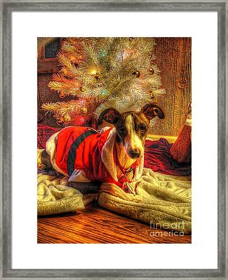 Santa I Wasn't All Bad Framed Print