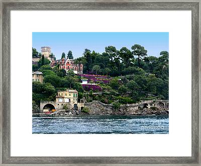 Santa Margherita Ligure.italy Framed Print