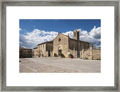 Santa Maria Church, The Façade Framed Print by Maremagnum