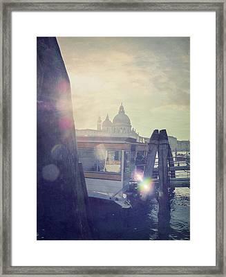 Santa Maria Della Salute Framed Print by Marco Misuri