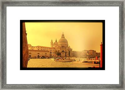 Santa Maria Della Salute Framed Print by Shelley Smith