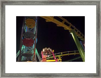 Santa Monica  Framed Print by Thomas Brown