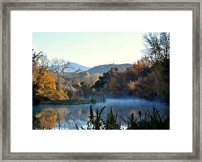 Santa Ynez River Framed Print