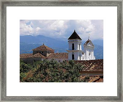 Santafe De Antioquia Framed Print by Blair Wainman