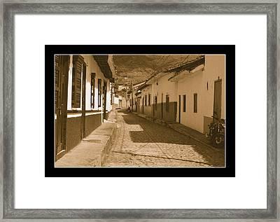 Sante  Fe No II Framed Print