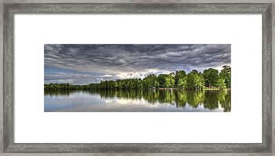 Santee - Panoramic Framed Print by Donni Mac