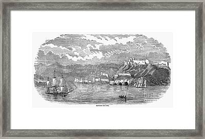 Santiago De Cuba, 1853 Framed Print