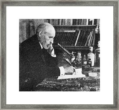 Santiago Ram�n Y Cajal, Spanish Framed Print by Science Source