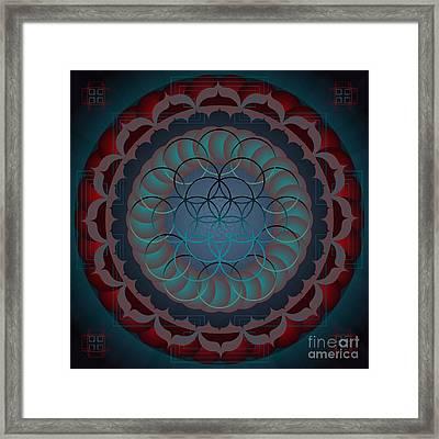 Santosha 2012 Framed Print by Kathryn Strick