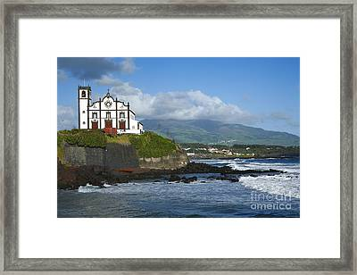 Sao Roque Church Framed Print by Gaspar Avila