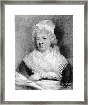 Sarah Franklin Bache Framed Print by Granger