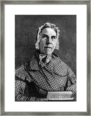 Sarah Moore Grimk�, American Framed Print by Photo Researchers
