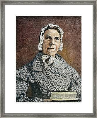 Sarah Moore Grimke Framed Print