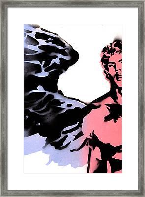 Saraqael Framed Print by Roberto Macedo Alves