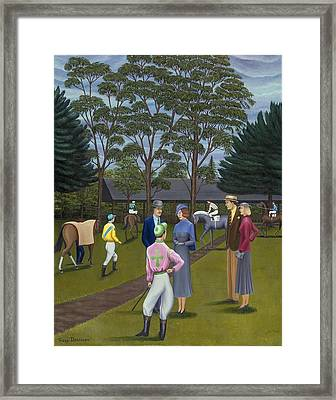 Saratoga Framed Print by Tracy Dennison